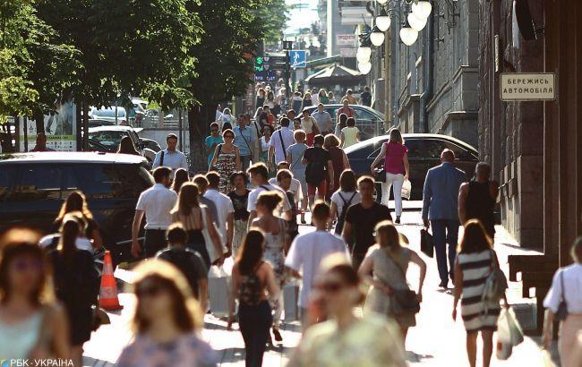 В Киеве проживает 10% населения Украины
