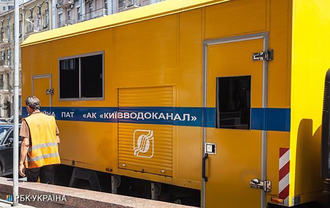 Центр Киева остался без воды из-за аварии
