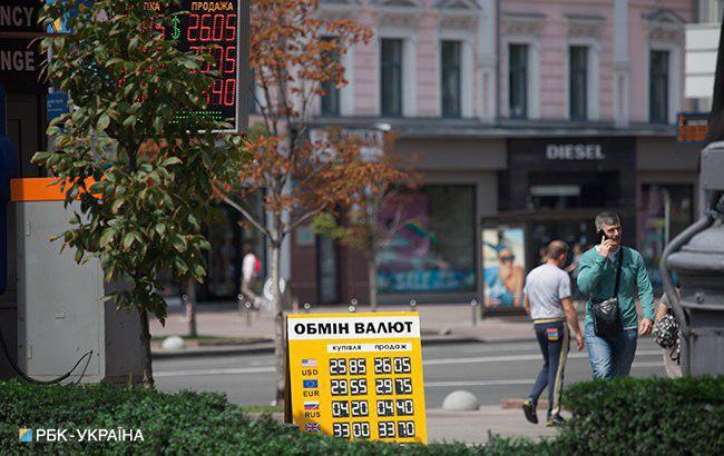 Фото: готівковий курс долара незначно знизився (РБК-Україна)