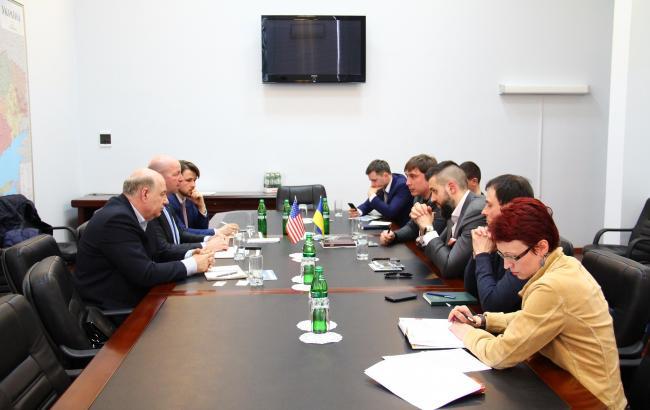 Фото: зустріч Держгеонадр із заступником міністра економіки та керівниками Avellana Gold