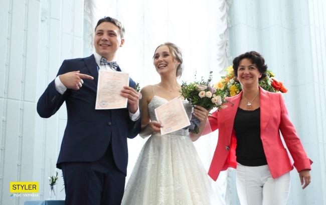 Фото: Регистрация брака в счастливую дату (РБК-Украина, Виталий Носач)