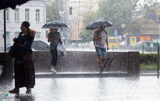 Дожди сегодня обойдут четыре области: прогноз погоды на сегодня