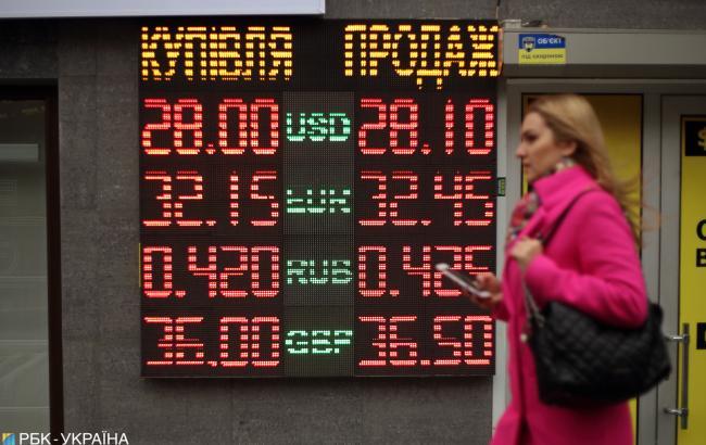 НБУ значительно повысил официальный курс доллара