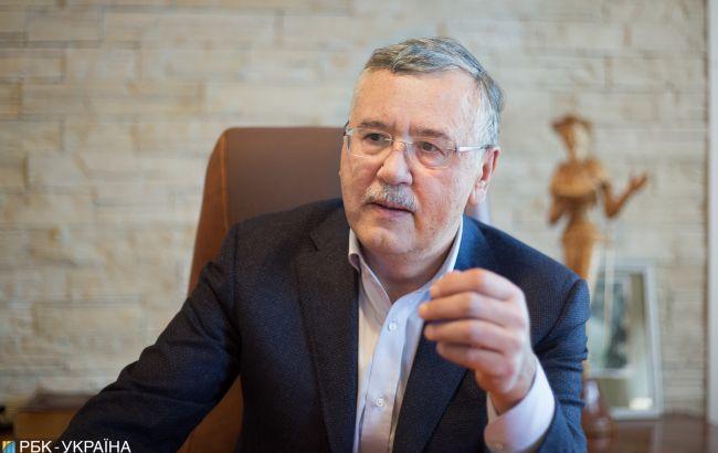Гриценко задумался, не объединиться ли с Саакашвили