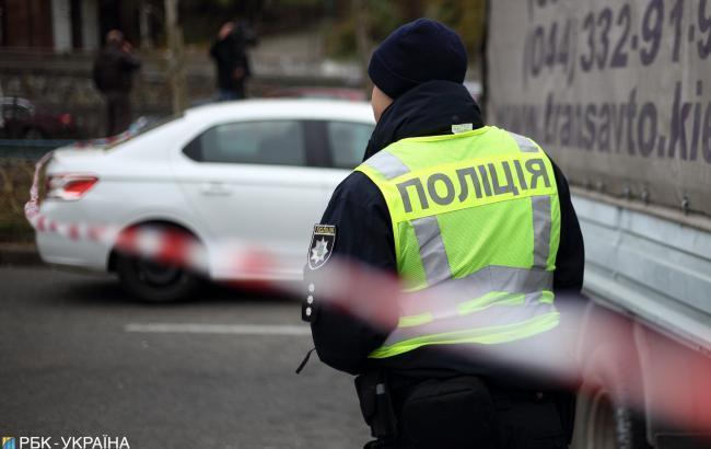 """Полицейский """"беспредел"""": в Киеве патрульные протаранили троллейбус"""
