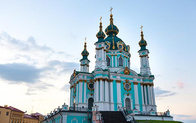Фото: Андреевская церковь (РБК-Украина)