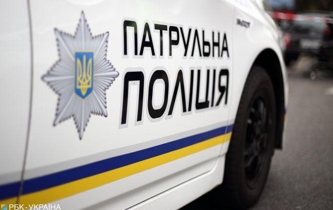У Києві під час оформлення аварії збили поліцейську