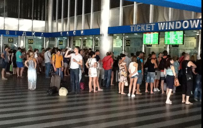 "Система продажи ж/д билетов ""Укрзализныци"" остановилась"