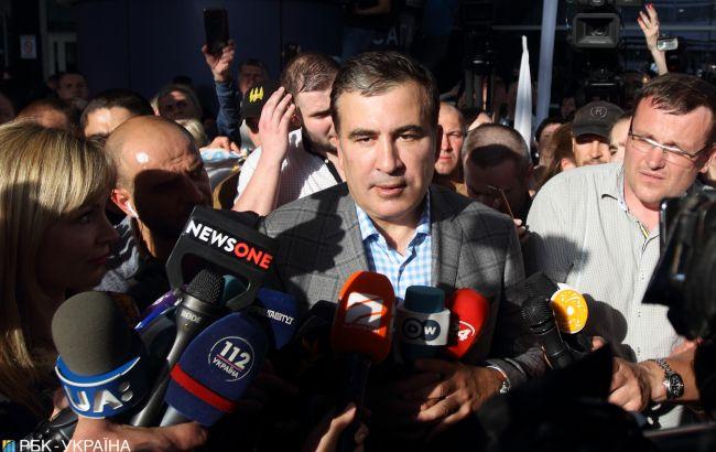 """У """"Слузі народу"""" розповіли, про що говорив Саакашвілі на засіданні фракції"""