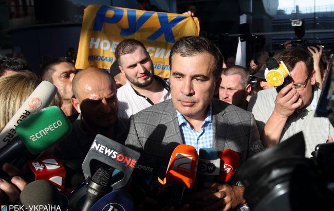 ЦВК виявила порушення у фінзвітах партій Саакашвілі, Гриценка та Шарія