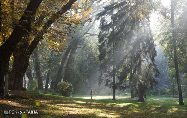Антициклон удержит в Украине теплую погоду