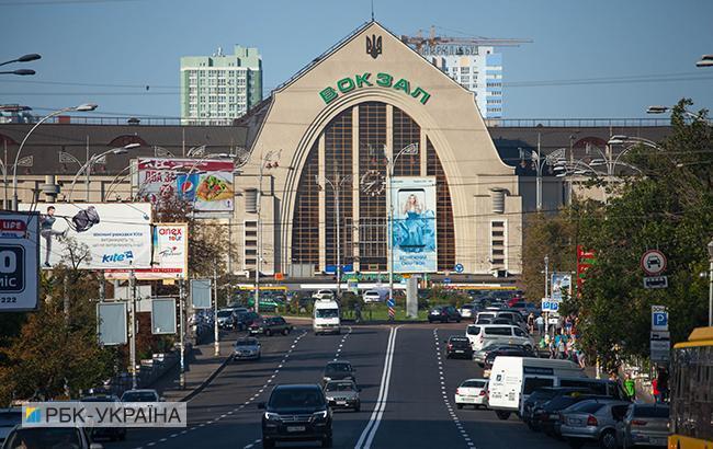 Информация о минировании Центрального ж/д вокзала в Киеве не подтвердилась