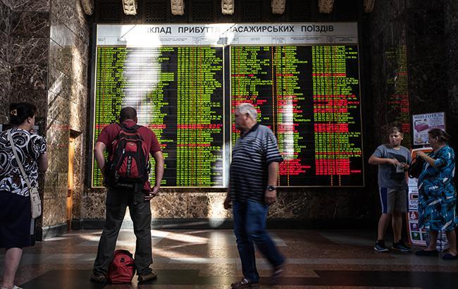 Фото: Вокзал в Киеве (РБК-Украина)