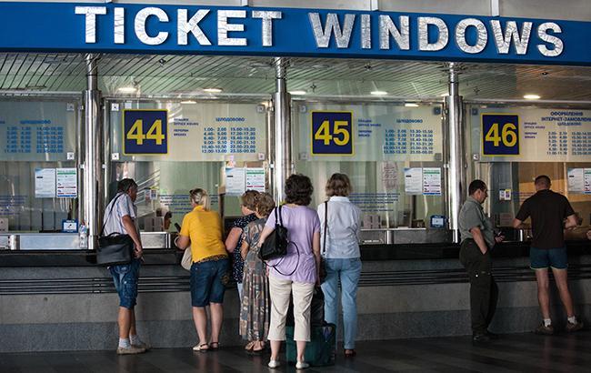 Железнодорожные кассы на бульваре Шевченко в Киеве работать больше не будут