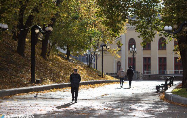 Завтра в Украине ожидается потепление до +23