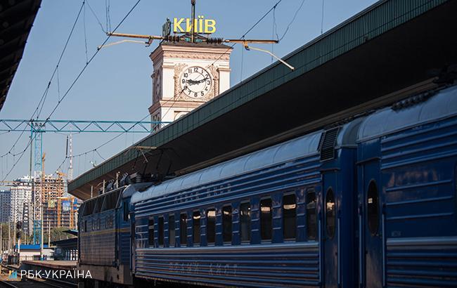 """Фото: потяг """"Укрзалізниці"""" (Андрій Коваль, РБК-Україна)"""