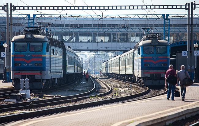 "Фото: поезда ""Укрзализныци"" (РБК-Украина)"