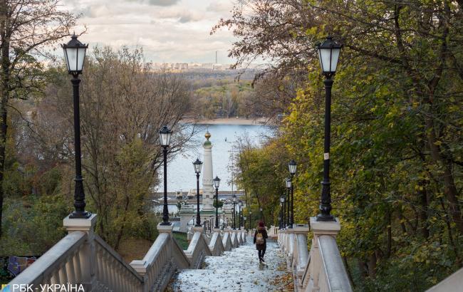 Климатологи зафиксировали первые заморозки в Киеве