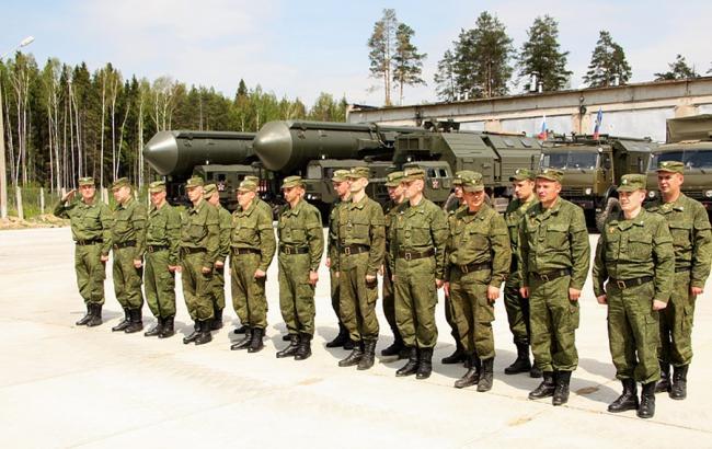 Фото: Ракетні війська стратегічного призначення РФ