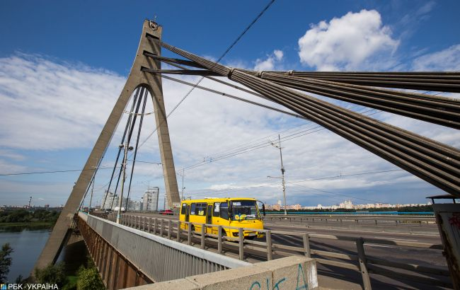 В Киеве завтра ограничат движение на Северном мосту