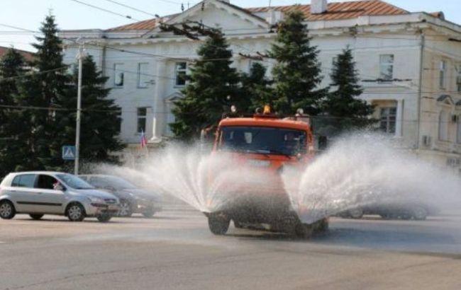 У Чернівцях почали регулярно дезінфікувати вулиці