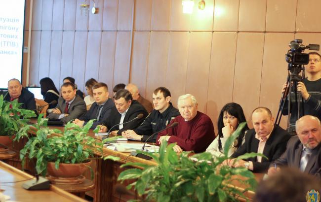 Фото: засідання обласної комісії ТЕБ та НС