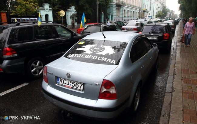С начала года в Украину ввезли полмиллиона автомобилей на еврономерах, - Южанина