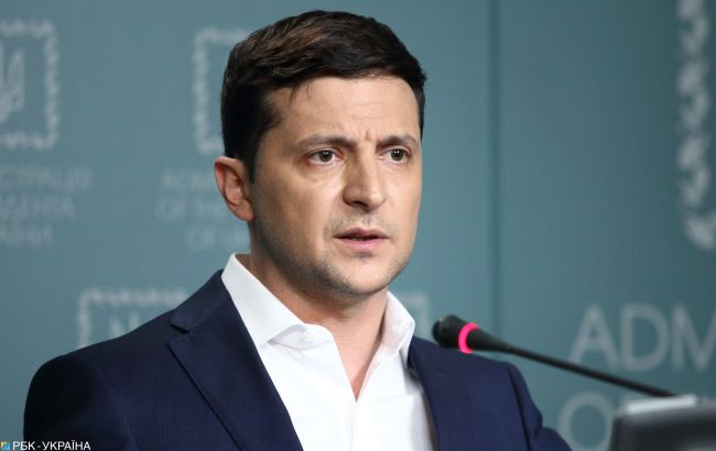 Зеленский назвал шаги для достижения мира на Донбассе