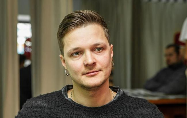 Фото: Лідер гурту О. Torvald Женя Галич (РБК-Україна)