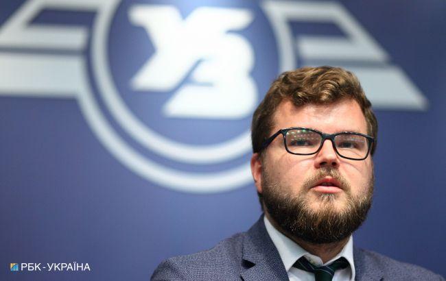 """Кравцов підтвердив намір піти з поста очільника """"Укрзалізниці"""""""