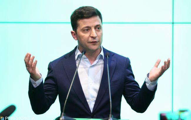 """Зеленський назвав 100 днів президентства """"прогулянкою в сутінках"""""""