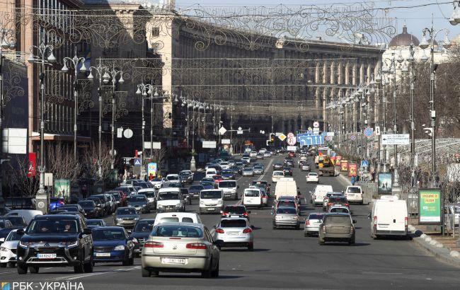 В центре Киева ограничат движение 28 августа