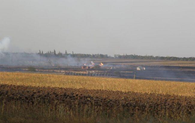 Пожежу на складі боєприпасів у Донецькій області ліквідовано, - ДСНС