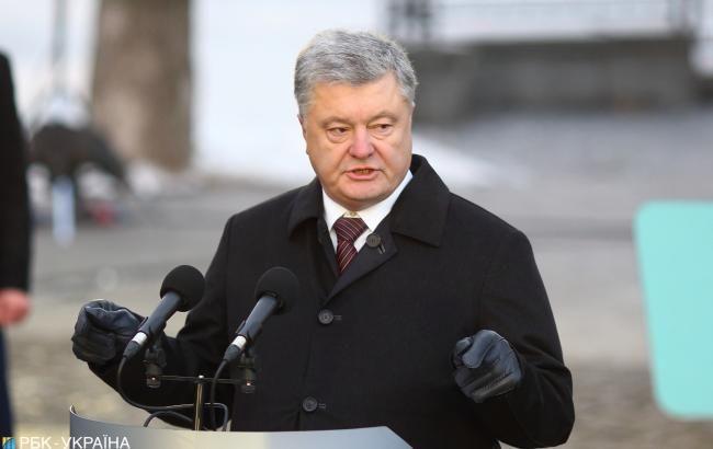 Порошенко вважає необхідним посилення військово-морської присутності союзників у Чорному морі
