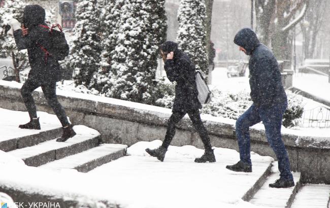 Синоптики рассказали о погоде в Киеве на 19 декабря