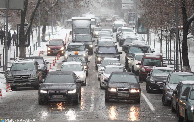 """В """"Укравтодорі"""" попередили про погіршення погодних умов у Київській області"""