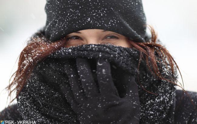У понеділок в Україні можливий мокрий сніг та вдень до -3