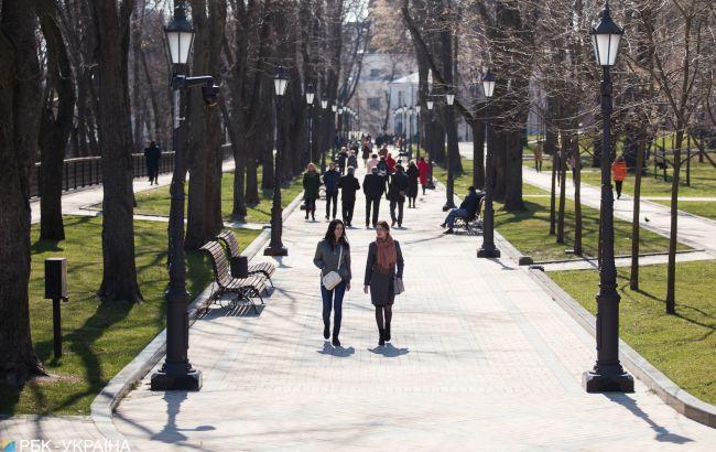 Тепло и солнечно: сегодня в Украине прогнозируют до +18