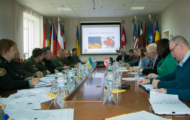 Нацгвардія розширить технічну співпрацю зі Збройними силами Канади