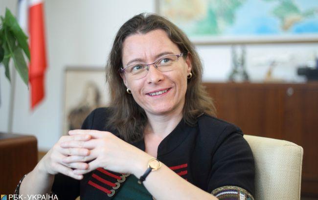 Посол Франції Ізабель Дюмон: Ми не хочемо нічого нав'язувати Україні
