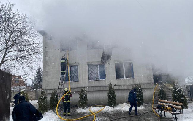 Пожежа в будинку для літніх людей Харкова: що відомо