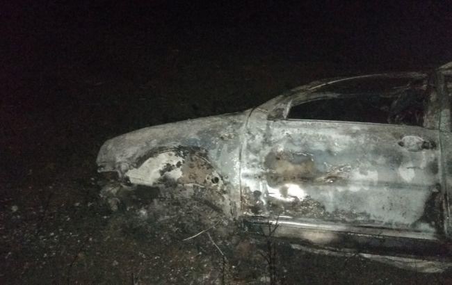 У Мар'їнці в результаті ДТП згорів автомобіль, є загиблі