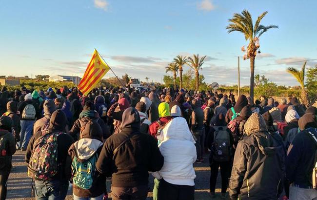 Протести в Каталонії: прихильники незалежності заблокували основні автомагістралі регіону