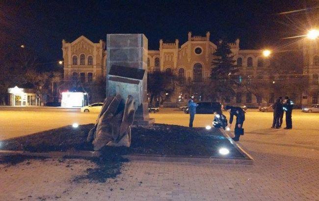 МВС порушило справу за фактом знесення пам'ятників в Харкові