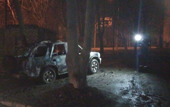 В Харькове взорвали автомобиль, - МВД