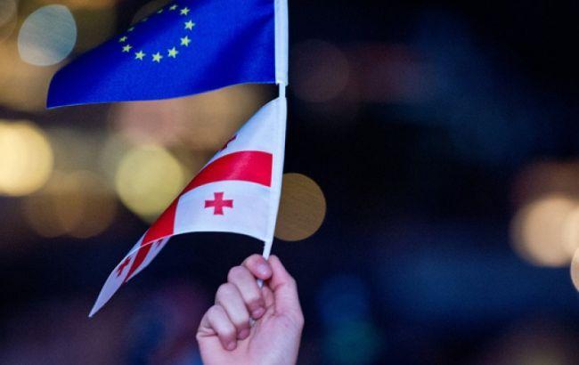 Фото: Європейський союз скасував візи для громадян Грузії