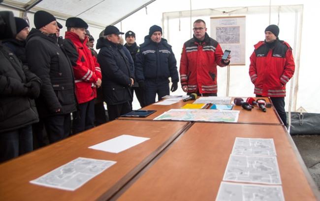 В Киеве сегодня начнутся учения с использованием сирен