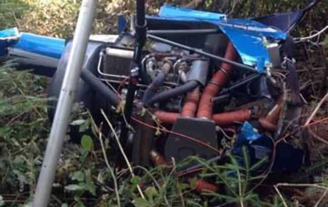 В Ивано-Франковской области упал самолет, есть погибший