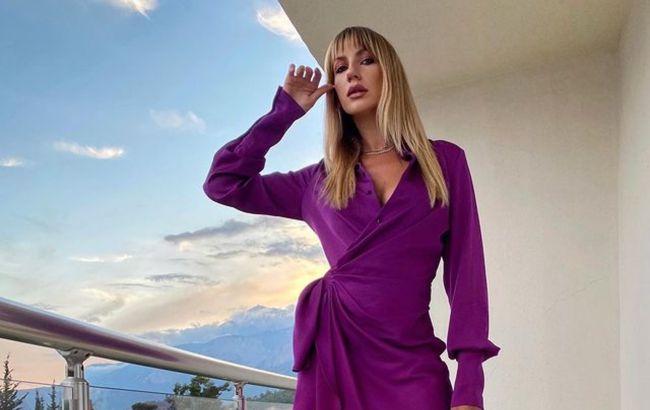 """Ожидание-реальность: Никитюк в шикарном платье """"переплюнула"""" сетевую знаменитость"""