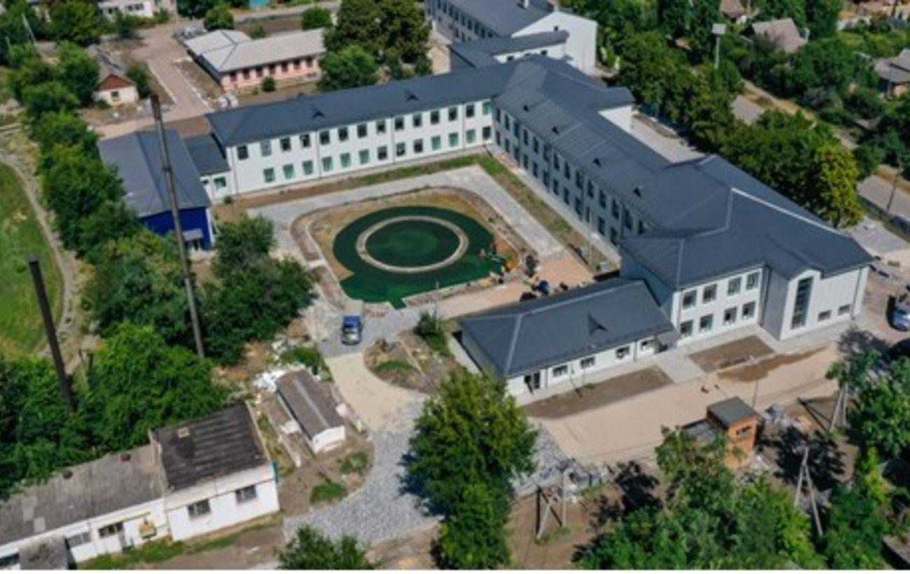 В Апостолово завершается реконструкция старого корпуса школы №3